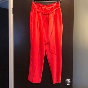 Boden high waisted tulip pants
